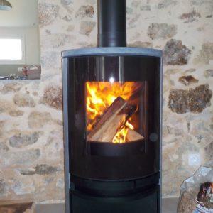 Poêle à bois pierre Angers - HCL