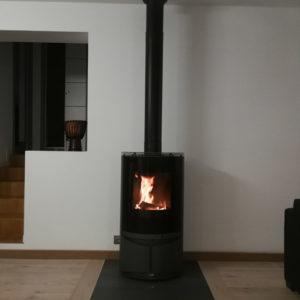 Poêle à bois feu - HCL